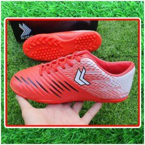 Giày Đá Bóng Trẻ Em Màu Đỏ Trắng