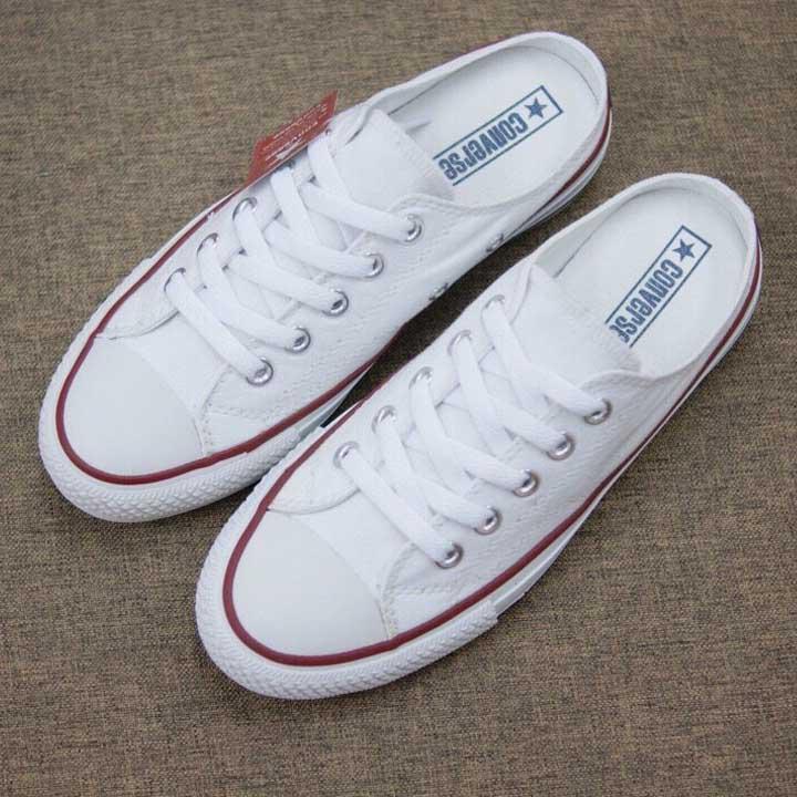 giày lười converse trắng