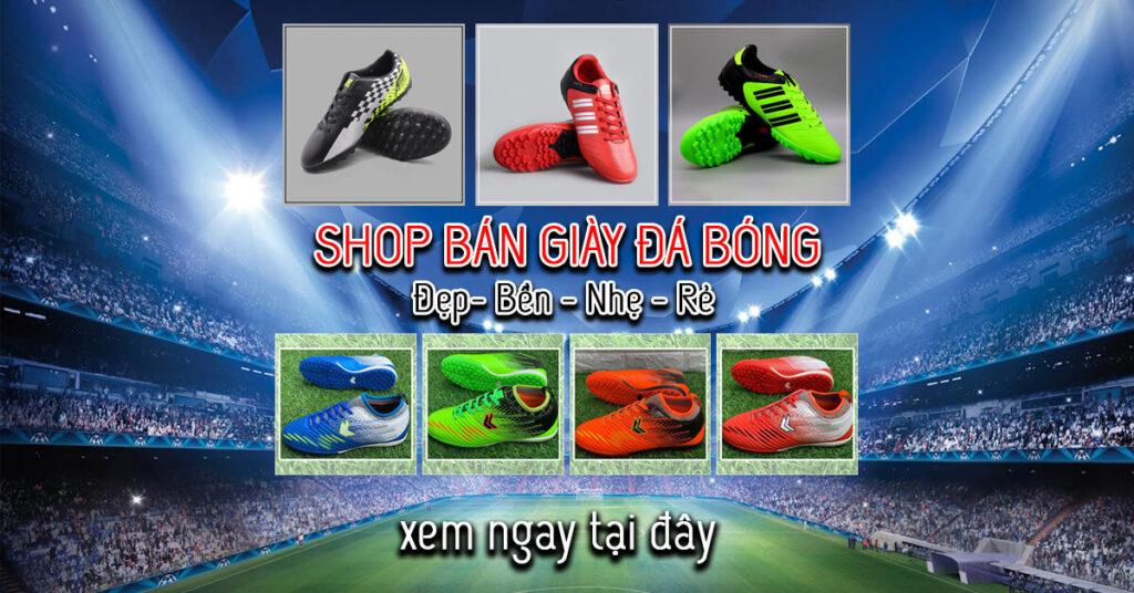 shop bán giày đá bóng uy tín nhất hiện nay